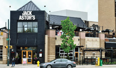 jack astors on richmond rows