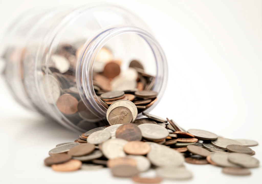 university of alberta's financial aid jar of coins
