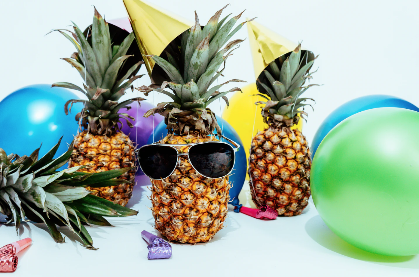 events at simon fraser university pineapples with sunglasses